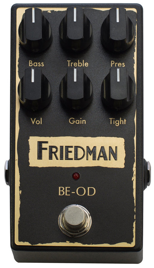 View larger image of Friedman BE-OD Overdrive Pedal