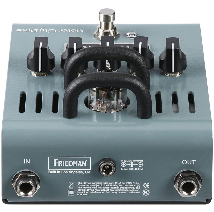 View larger image of Friedman Motor City Drive Tube Overdrive Pedal