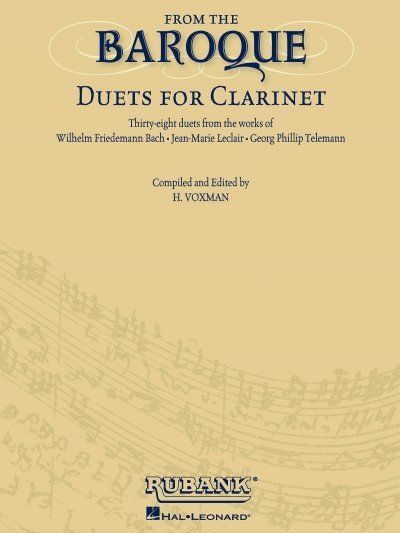 View larger image of From the Baroque - Duets for Clarinet