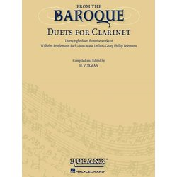 From the Baroque - Duets for Clarinet
