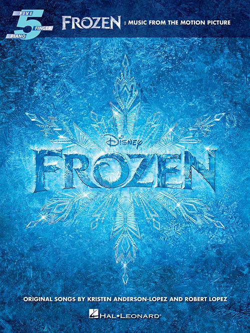 View larger image of Frozen - Music from the Motion Picture (Five Finger Piano Songbook)