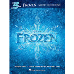 Frozen - Music from the Motion Picture (Five Finger Piano Songbook)