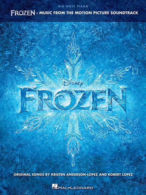 View larger image of Frozen: Music from the Motion Picture Soundtrack Big Note Songbook