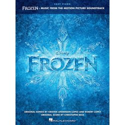 Frozen - Music from the Motion Picture Soundtrack (Easy Piano Songbook)