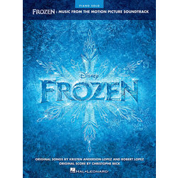 Frozen - Music from the Motion Picture Soundtrack (Piano Solo Songbook)