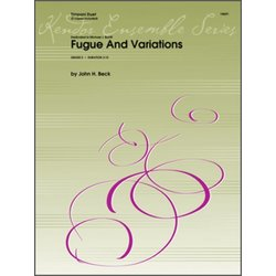 Fugue And Variations - Timpani Duet