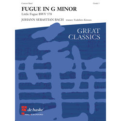 Fugue in G Minor - Score & Parts, Grade 5