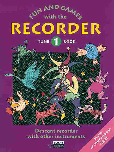 View larger image of Fun and Games with the Recorder Tune Book 1 - Soprano