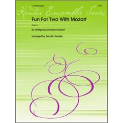 Fun For Two With Mozart - (Clarinet Duet)