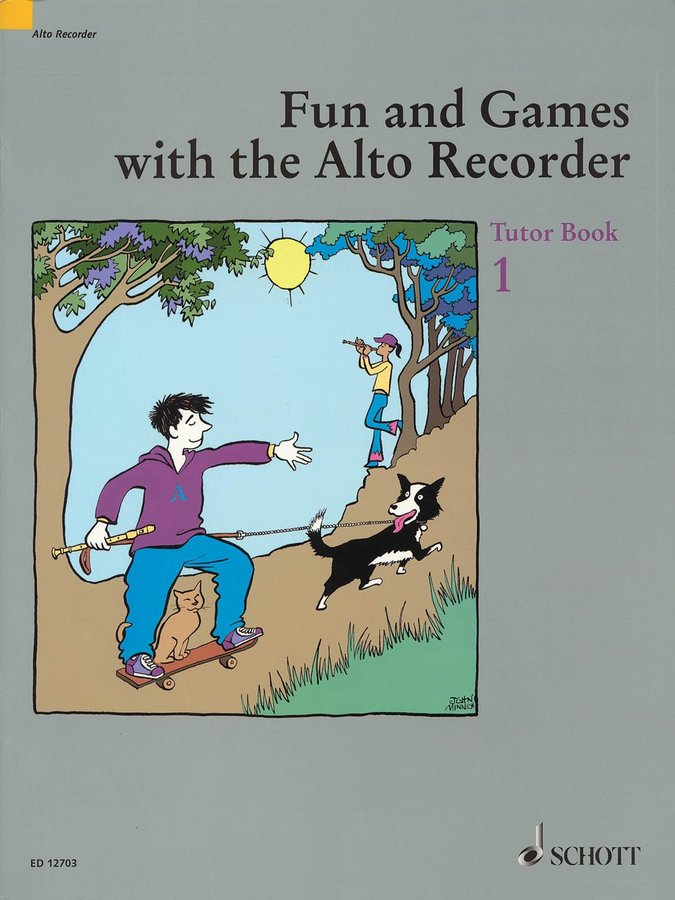 View larger image of Fun & Games With The Alto Recorder - Tutor Book 1