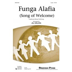 Funga Alafia (Song Of Welcome), 2PT Parts