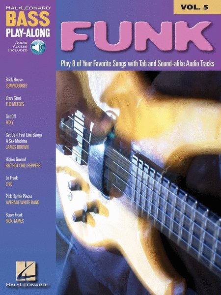 View larger image of Funk - Bass Play-Along Volume 5 w/Online Audio