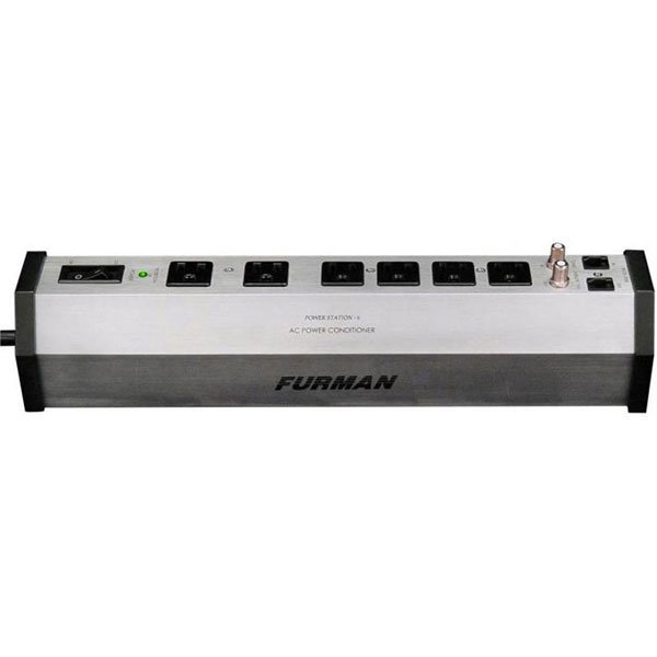 View larger image of Furman 15A 6 Outlet Surge Suppressor Power Bar