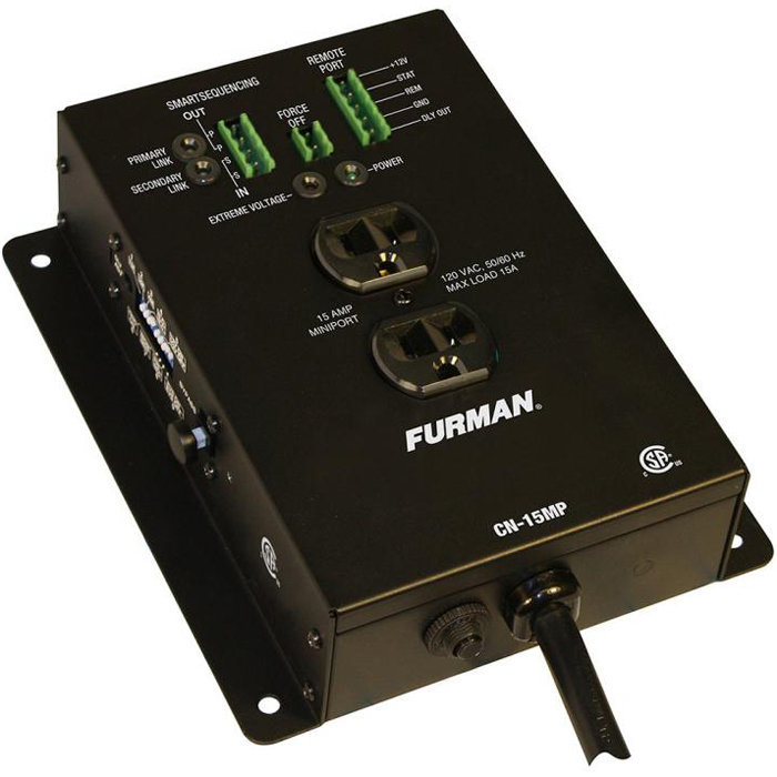 View larger image of Furman CN-15MP Contractor Series 15A MiniPort