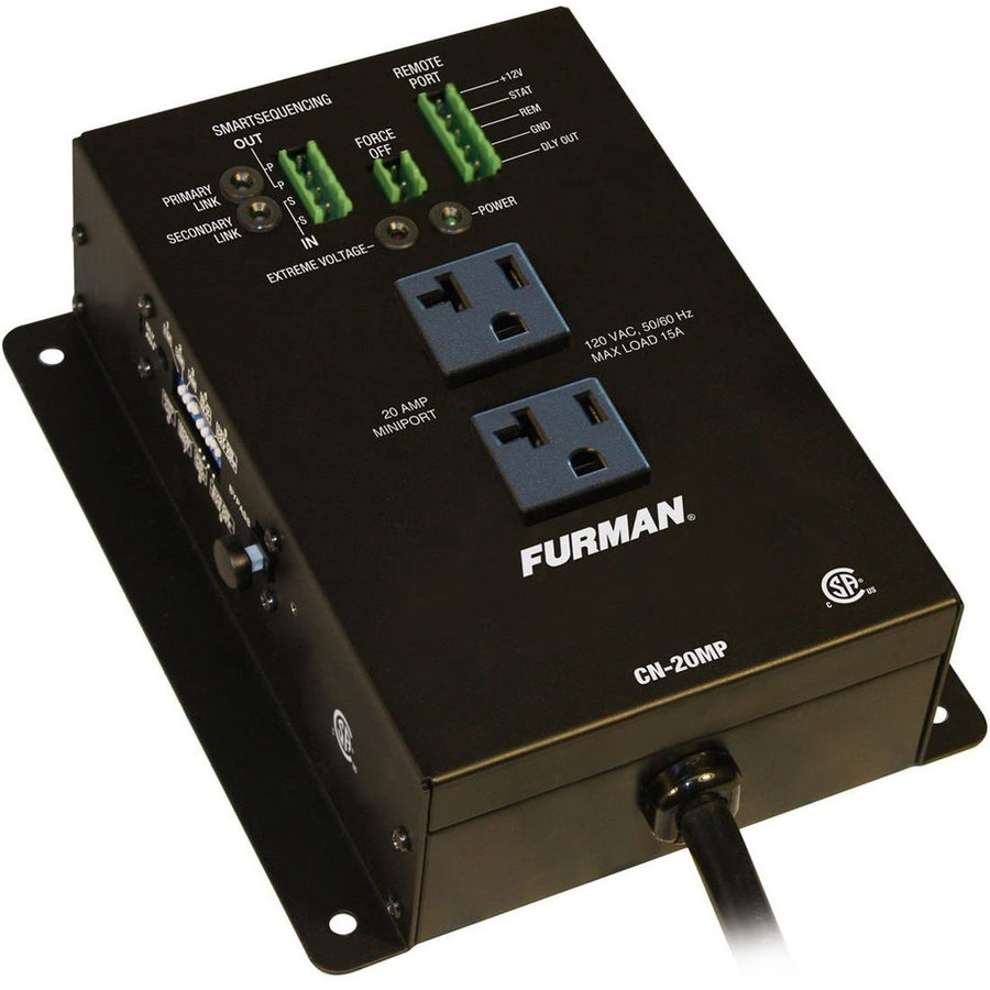 View larger image of Furman CN-20MP Remote Duplex Power Sequencer