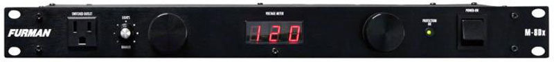 View larger image of Furman M-8DX 15A Power Conditioner with Lights and Digital Meter
