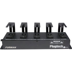 Furman Plug Lock Locking Power Bar