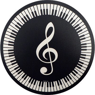 View larger image of G-Clef and Keyboard Mouse Pad