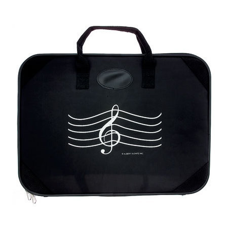 View larger image of G-Clef Briefcase - Black