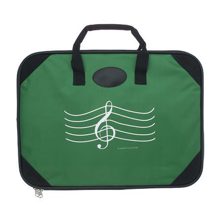 View larger image of G-Clef Briefcase - Green