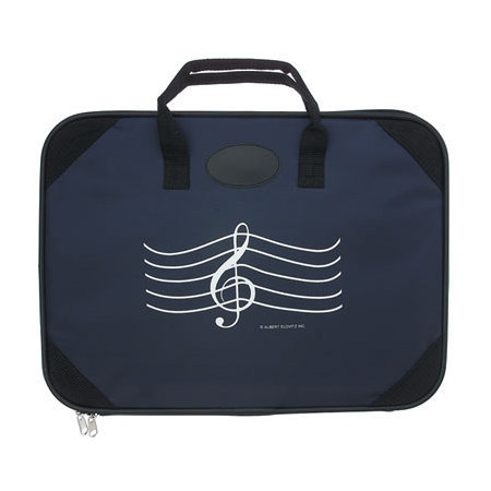 View larger image of G-Clef Briefcase - Navy