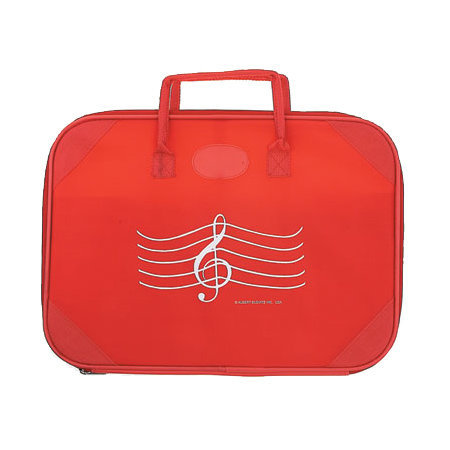 View larger image of G-Clef Briefcase - Red