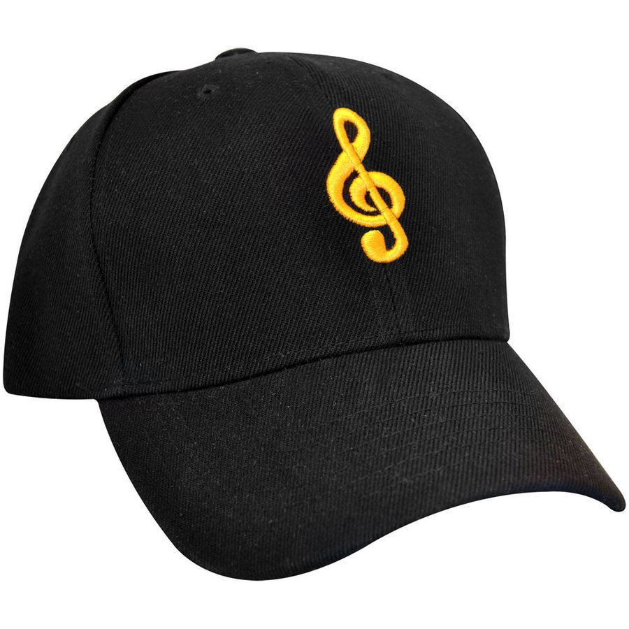 View larger image of G-Clef Hat - Black/Gold