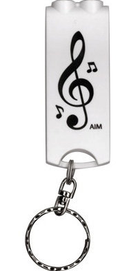 View larger image of G-Clef LED Keychain