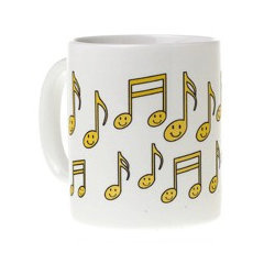 G-Clef Mug - Black/Gold