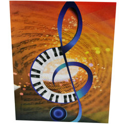 G-Clef Piano Note Cards - 8 Pack