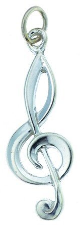 View larger image of G-Clef Silver Charm