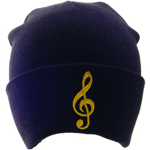 View larger image of G-Clef Winter Hat - Black