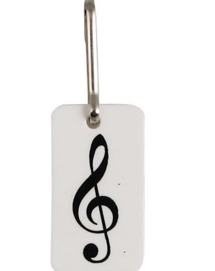 View larger image of G-Clef Zipper Pull