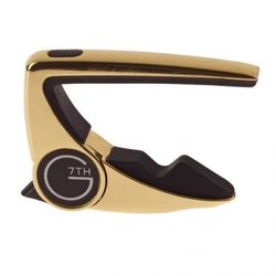 G7th Performance 2 Acoustic Guitar Capo - Gold