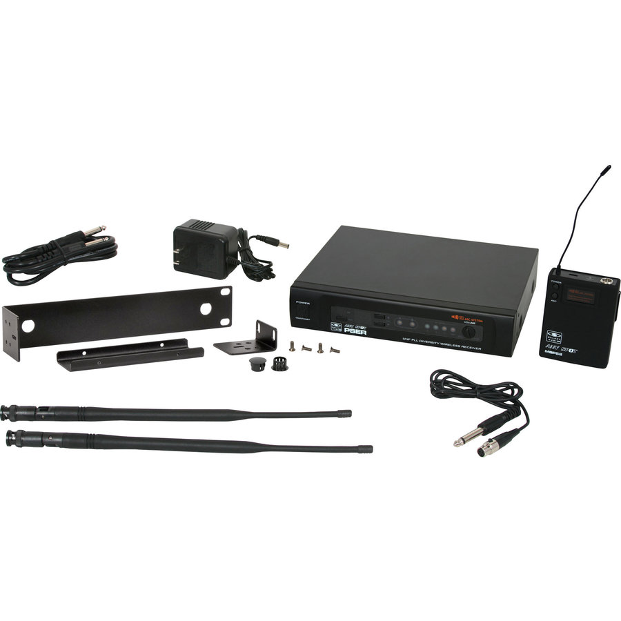 View larger image of Galaxy Audio PSER/52GTR Guitar Wireless Microphone System - N Band