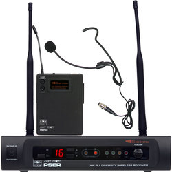 Galaxy Audio PSER/52HS Wireless Headset Microphone System - D Band