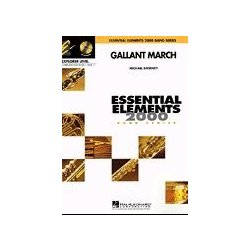 Gallant March - Score & Parts, Grade 0.5