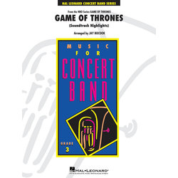 Game of Thrones (Soundtrack Highlights) - Score & Parts, Grade 3