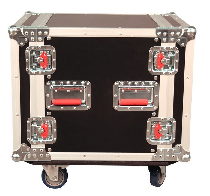 View larger image of Gator 10U ATA Wood Flight Rack Case with Casters