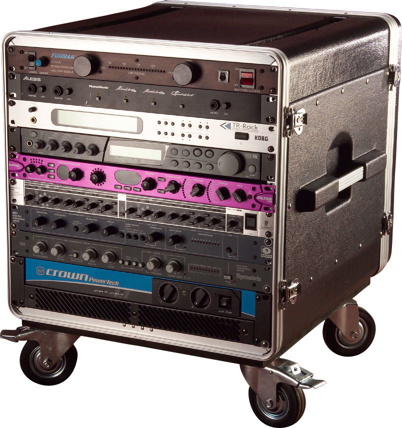 View larger image of Gator 10U Rack Base with Casters