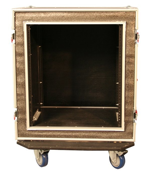 View larger image of Gator 12U Shock Audio Road Rack Case with Casters
