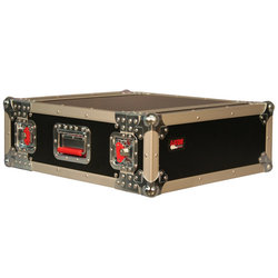 Gator 2U Standard Audio Road Rack Case