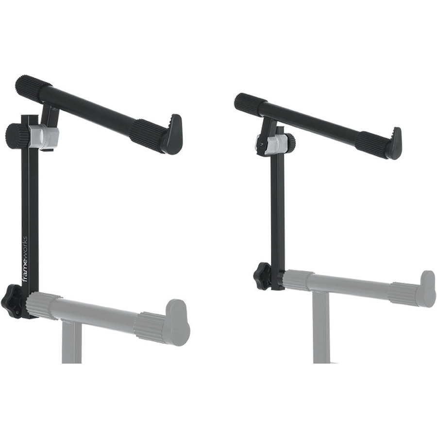 View larger image of Gator 3rd Tier Add-On for X Style Keboard Stand