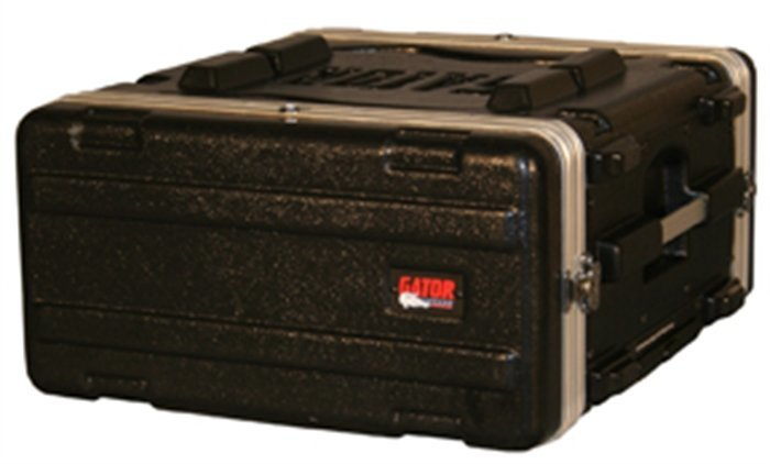 View larger image of Gator 4U Rolling Audio Rack with Wheels