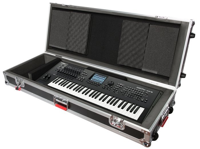 View larger image of Gator 61 Note Road Case with wheels
