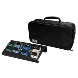Gator Aluminum Pedal Board with Carry Bag - Black, Small