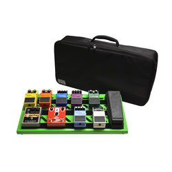 Gator Aluminum Pedal Board with Carrying Bag - Large