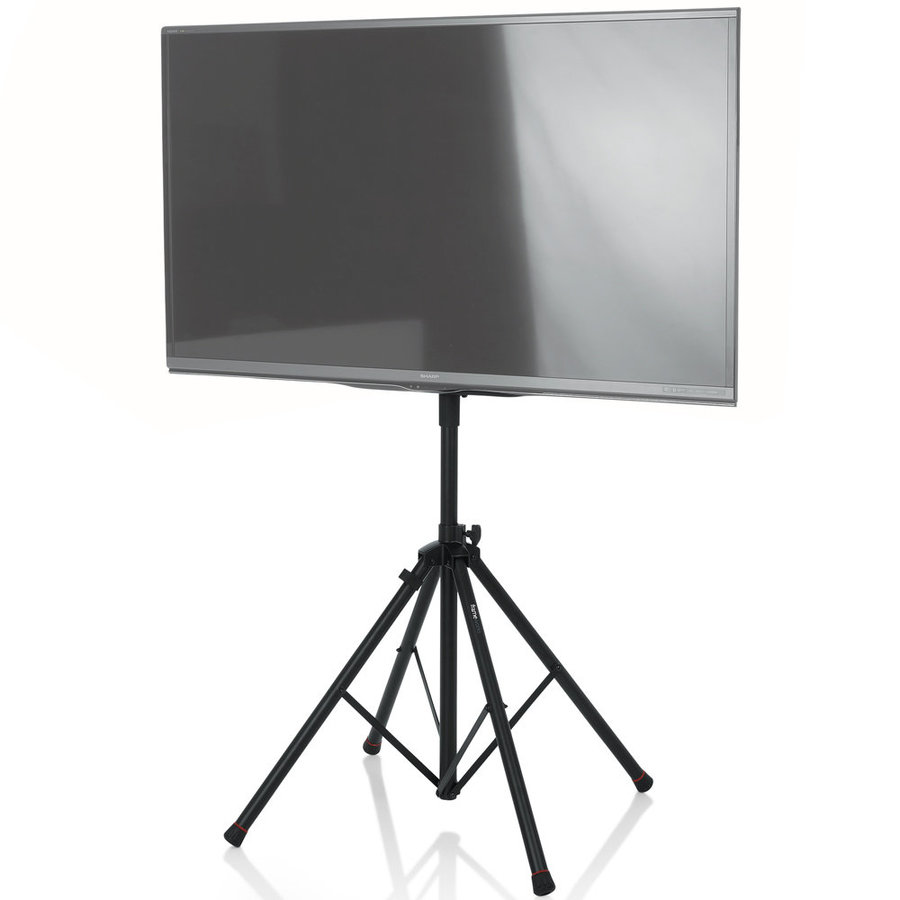 View larger image of Gator Deluxe Quadpod LCD/LED Stand