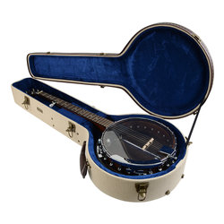 Gator Deluxe Wood Case for Banjo - Journeyman Burlap