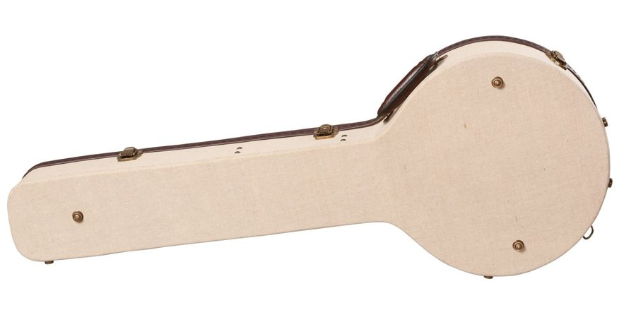 View larger image of Gator Deluxe Wood Case for Banjo - Journeyman Burlap